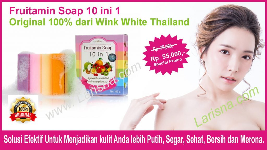 Fruitamin Soap Original 100%